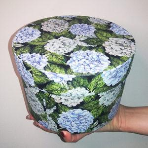 Шляпная коробочка для живых бабочек